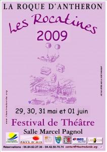 Affiche Rocatines 2009