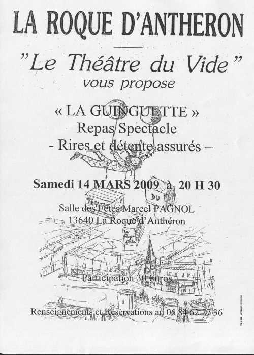 Affiche La Guinguette